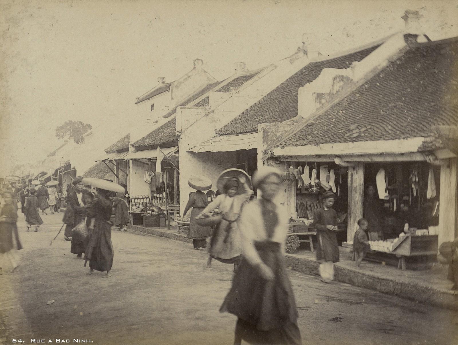 Những hình ảnh hiếm về quê hương quan họ Bắc Ninh thạp niên 1890