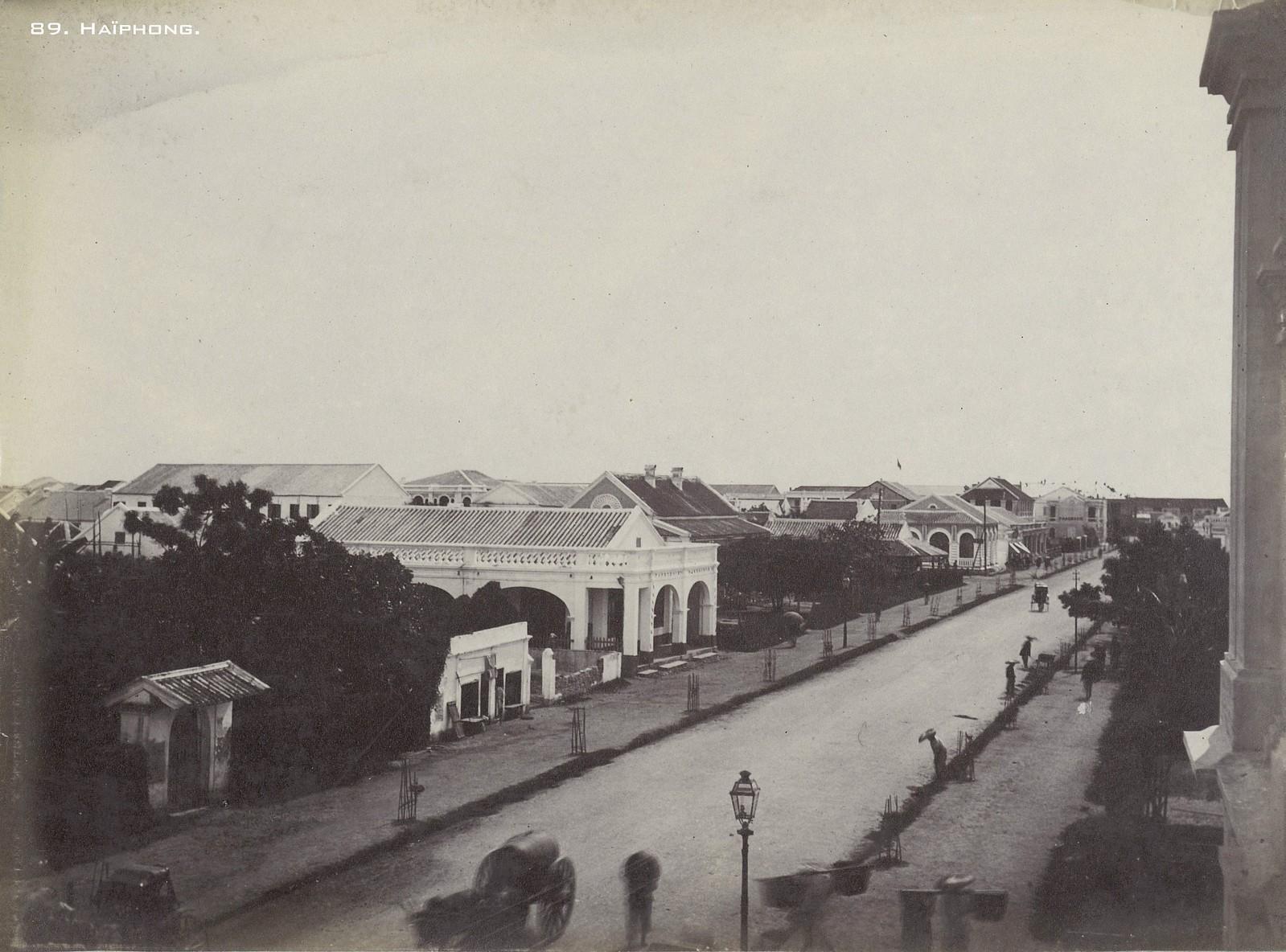 Những hình ảnh phải xem về Hải Phòng năm 1899