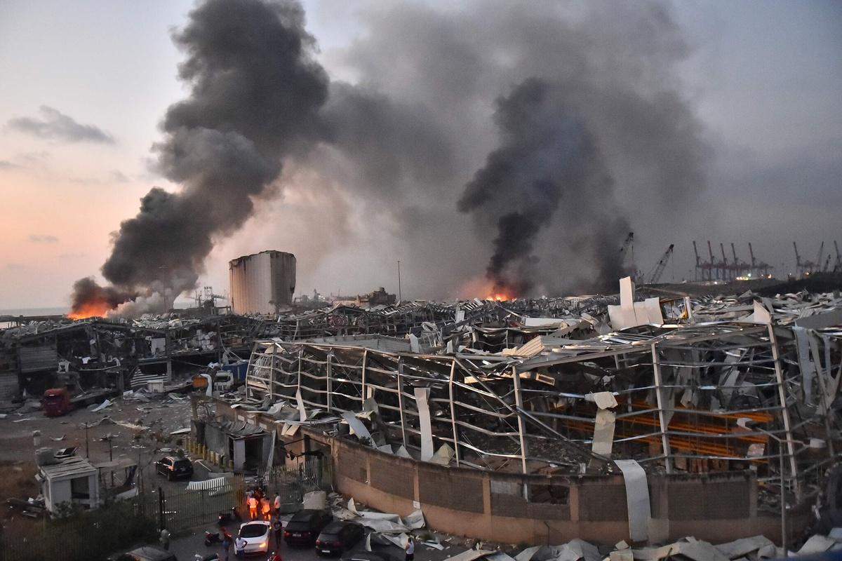 Vụ nổ Beirut: Bi kịch của một đất nước đang chìm trong khủng hoảng