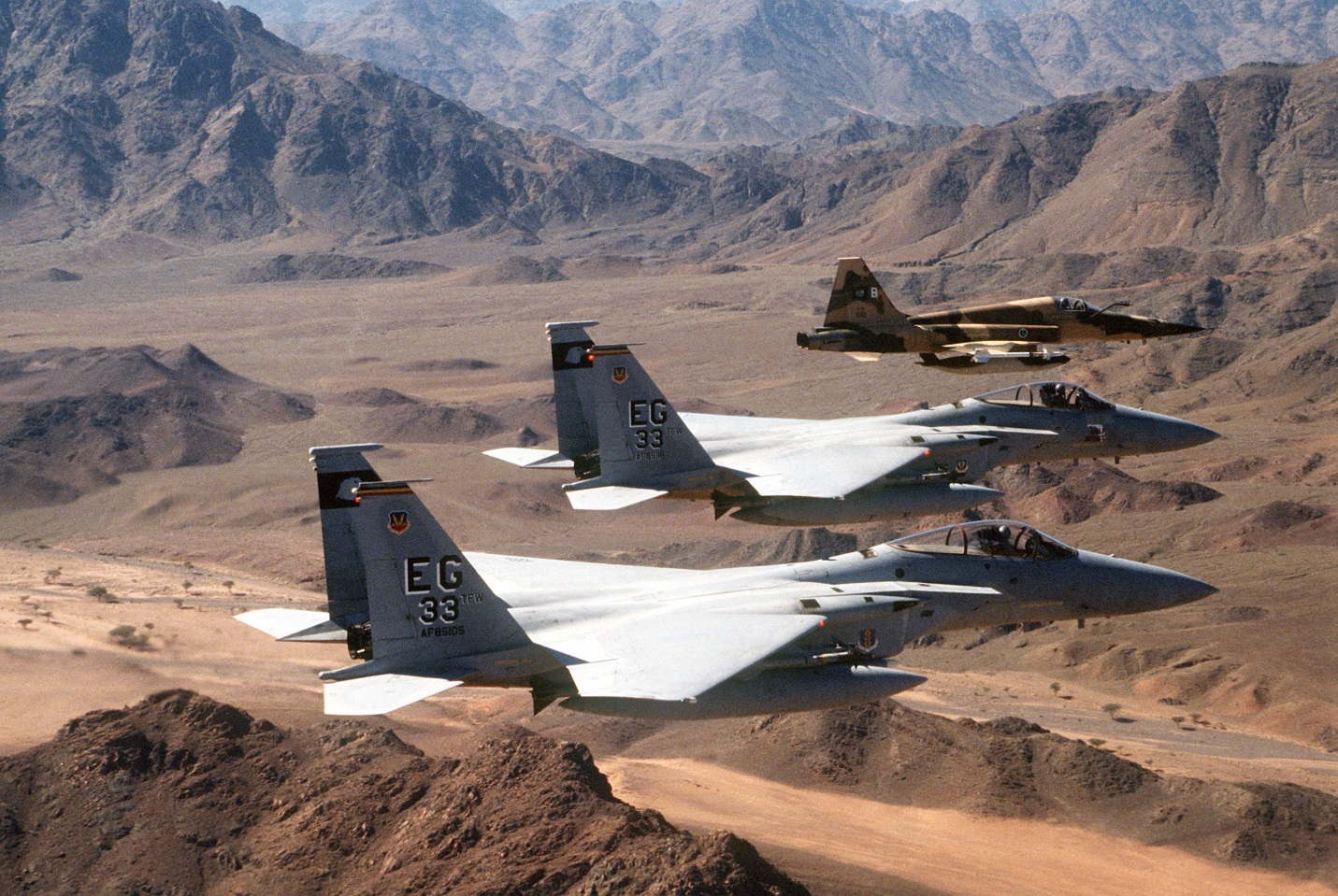 Chiến dịch Bão táp Sa mạc đã làm thay đổi chiến tranh trên không thế nào?