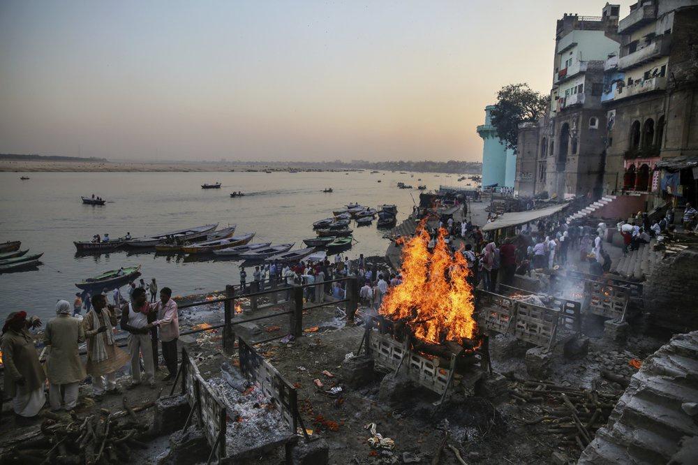 Chùm ảnh: Sông Hằng – dòng sông tâm linh của ngàn năm lịch sử Ấn Độ