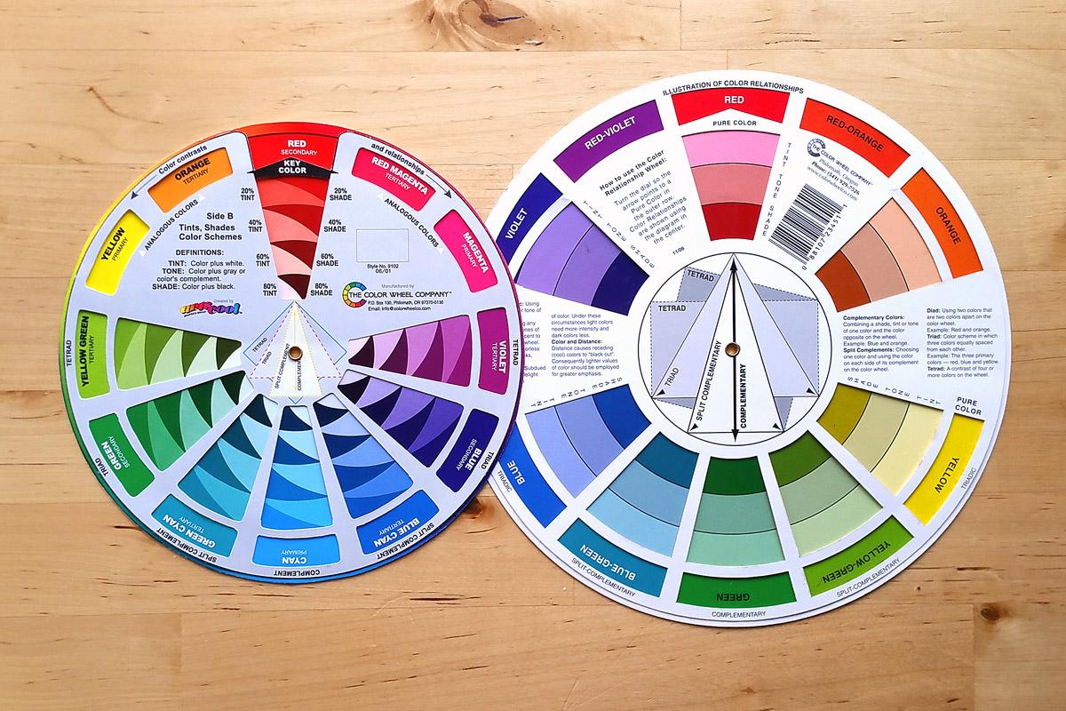 Lịch sử thú vị của Bánh xe màu sắc – công cụ đắc lực của người họa sĩ