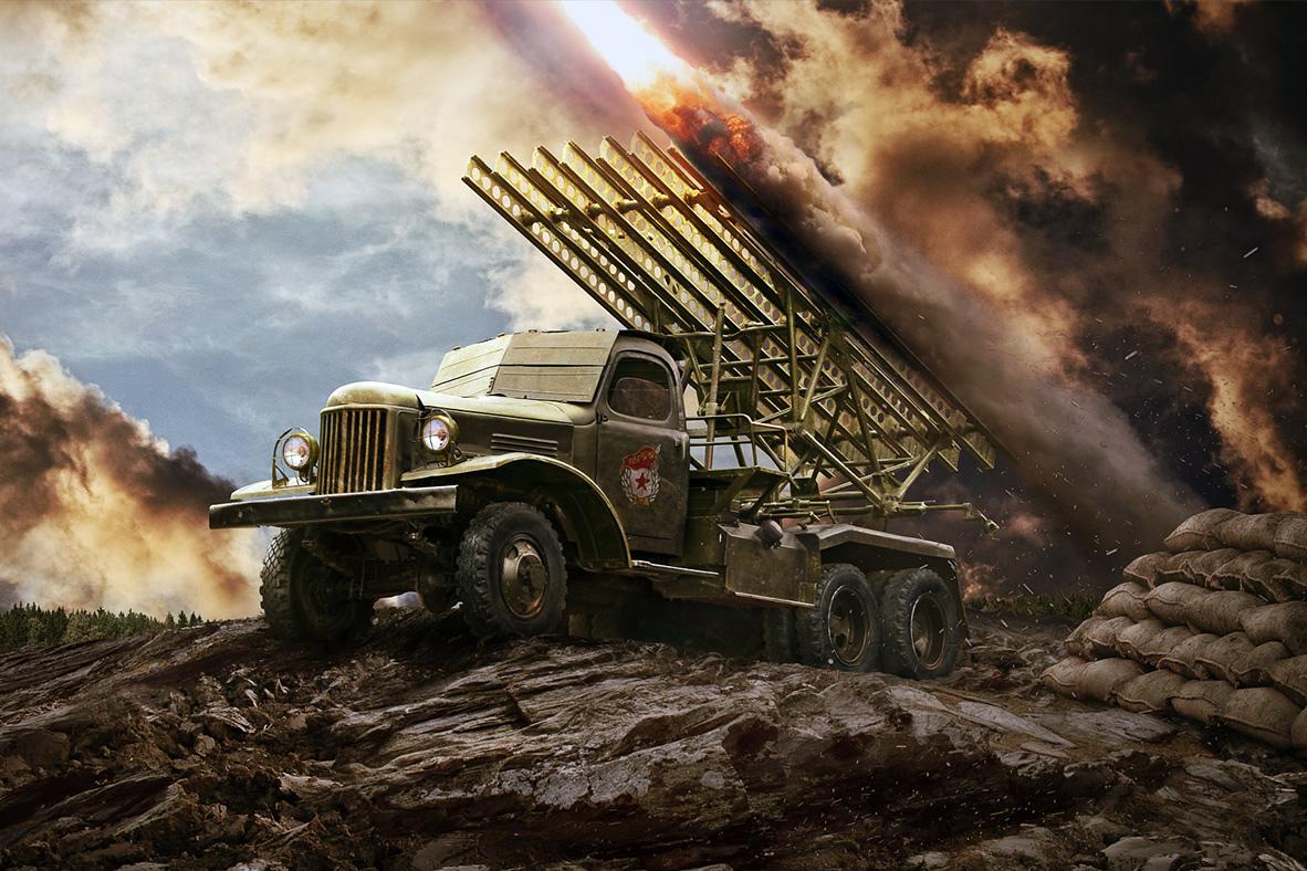 Chiến công tiêu diệt 500 lính Đức của ba pháo thủ Katyusha Liên Xô