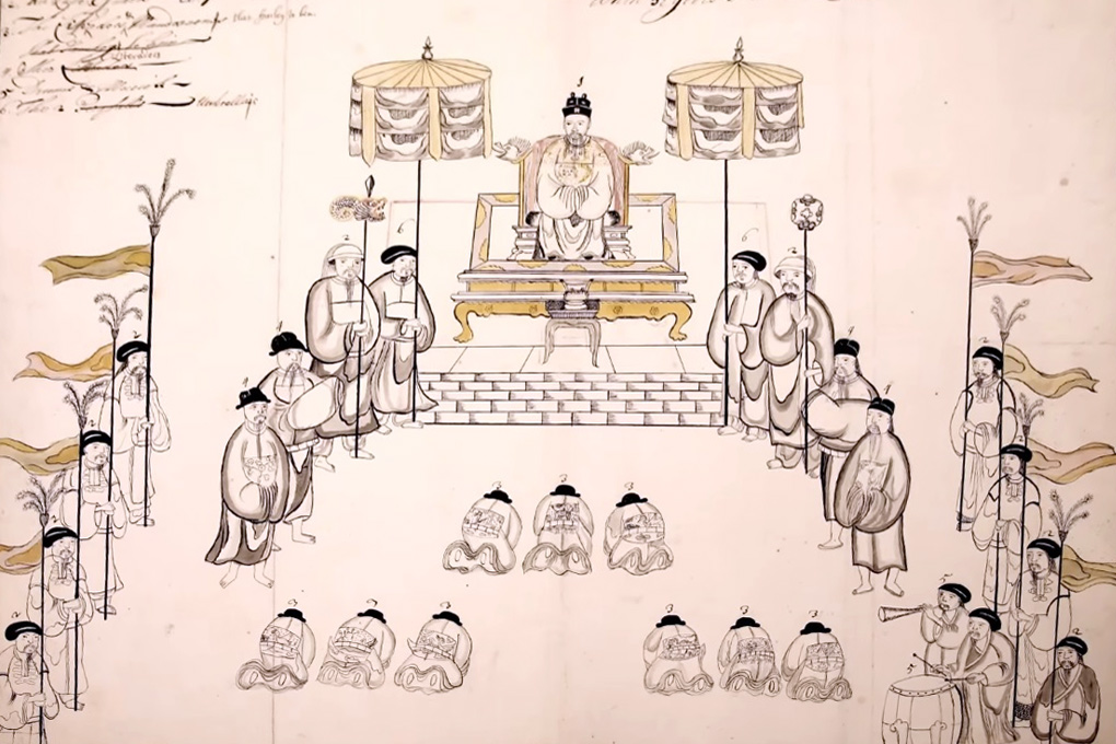 Hoạn quan trong phủ Chúa Trịnh qua lời kể của Samuel Baron