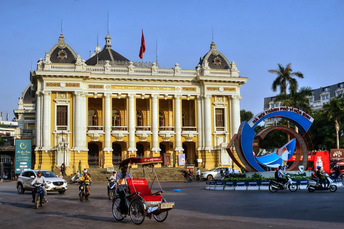 Chùm ảnh: Dấu son lịch sử ở Quảng trường Cách mạng Tháng Tám