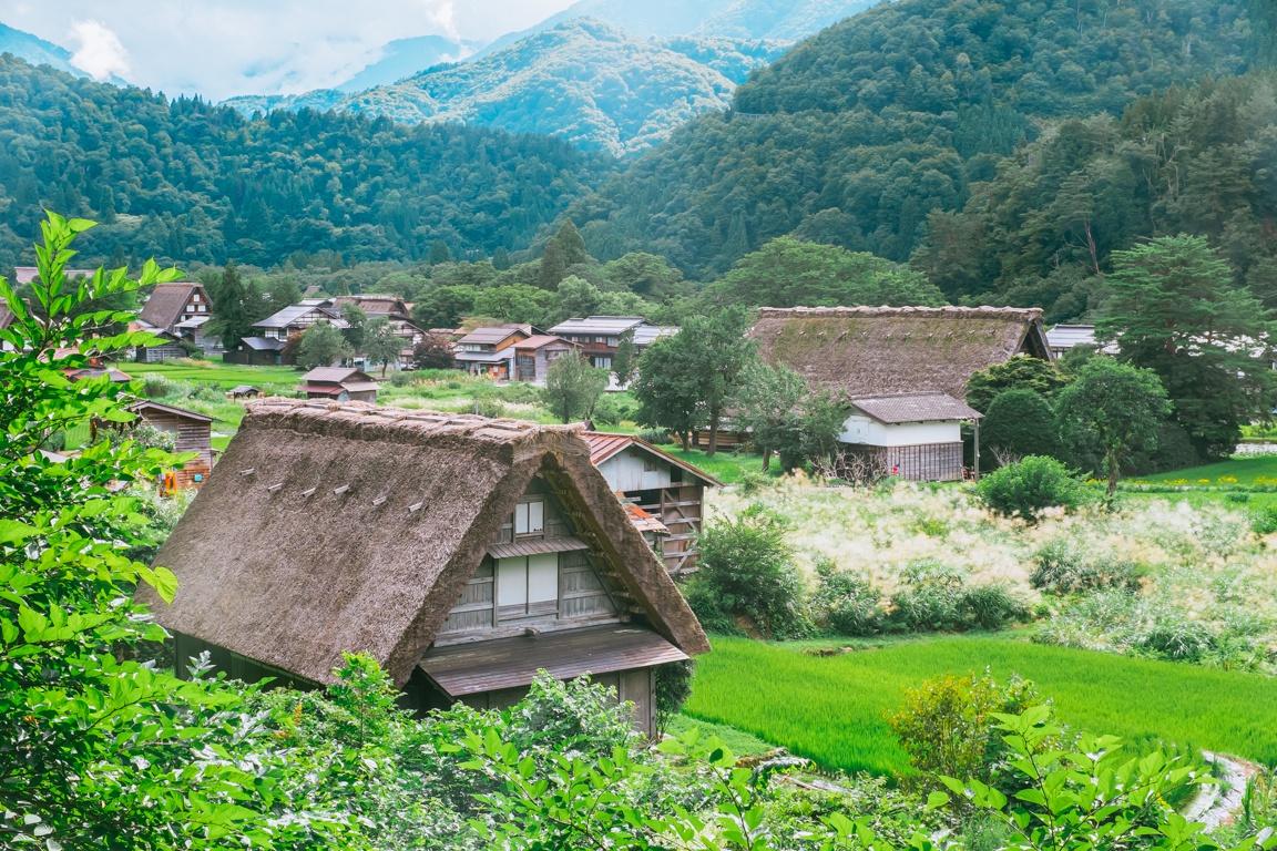 Chùm ảnh: Shirakawa – ngôi làng nơi bộ truyện Doraemon ra đời