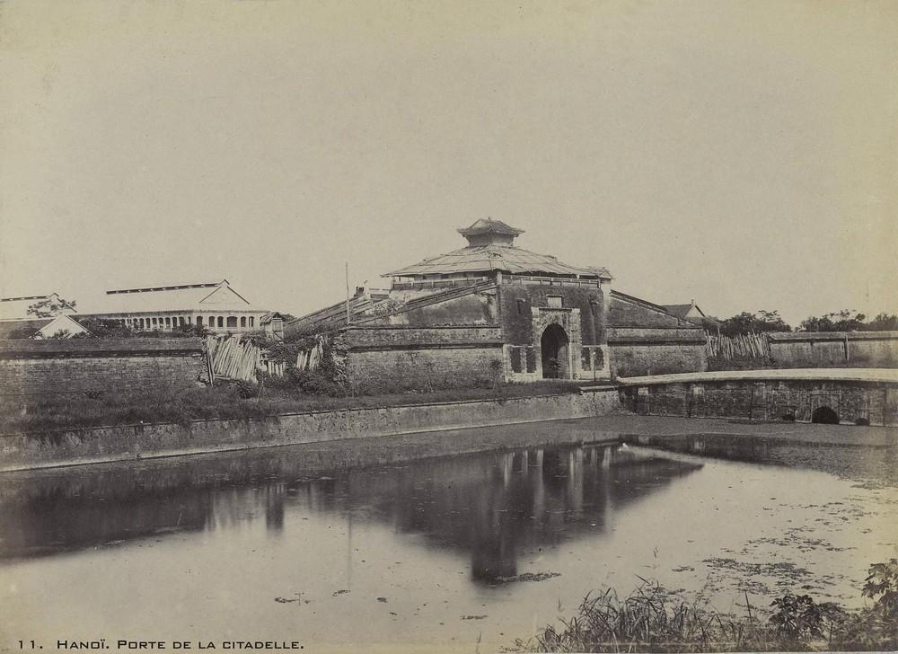 Một số hình ảnh tư liệu quý về thành cổ Hà Nội cuối thế kỷ 19