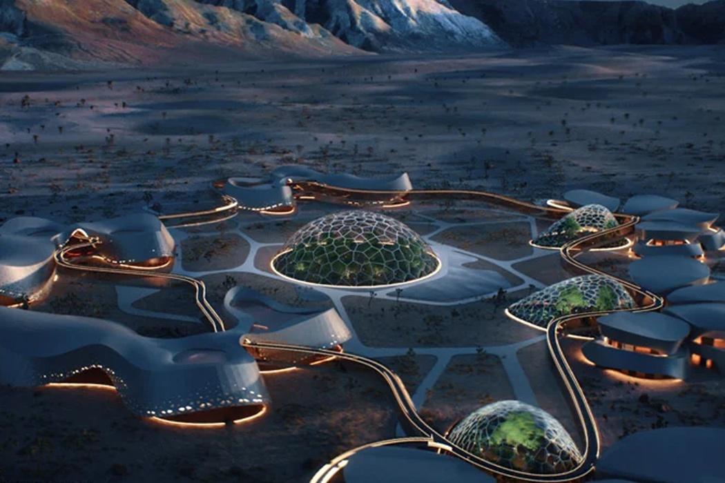 Chùm ảnh: Những ngôi nhà giúp con người sống ngoài không gian