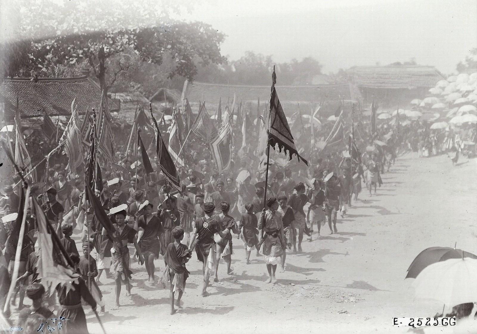 Chùm ảnh: Lễ hội làng Dương Liễu ở Hà Đông năm 1928