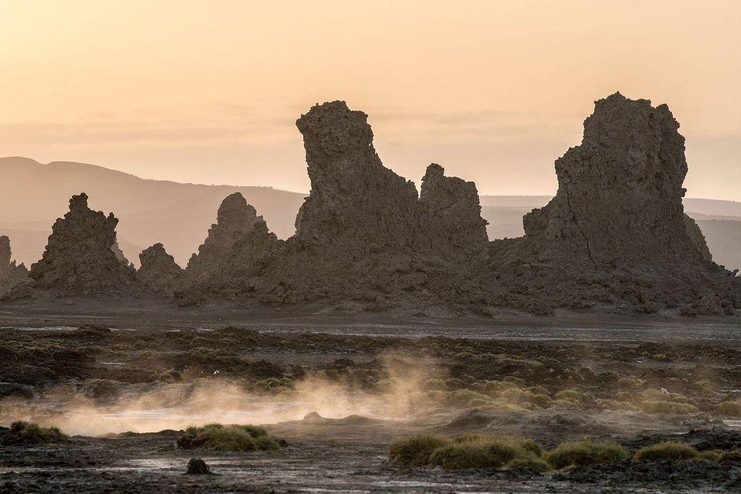 Chùm ảnh: Hồ Abbe – vùng đất bị lãng quên ở châu Phi