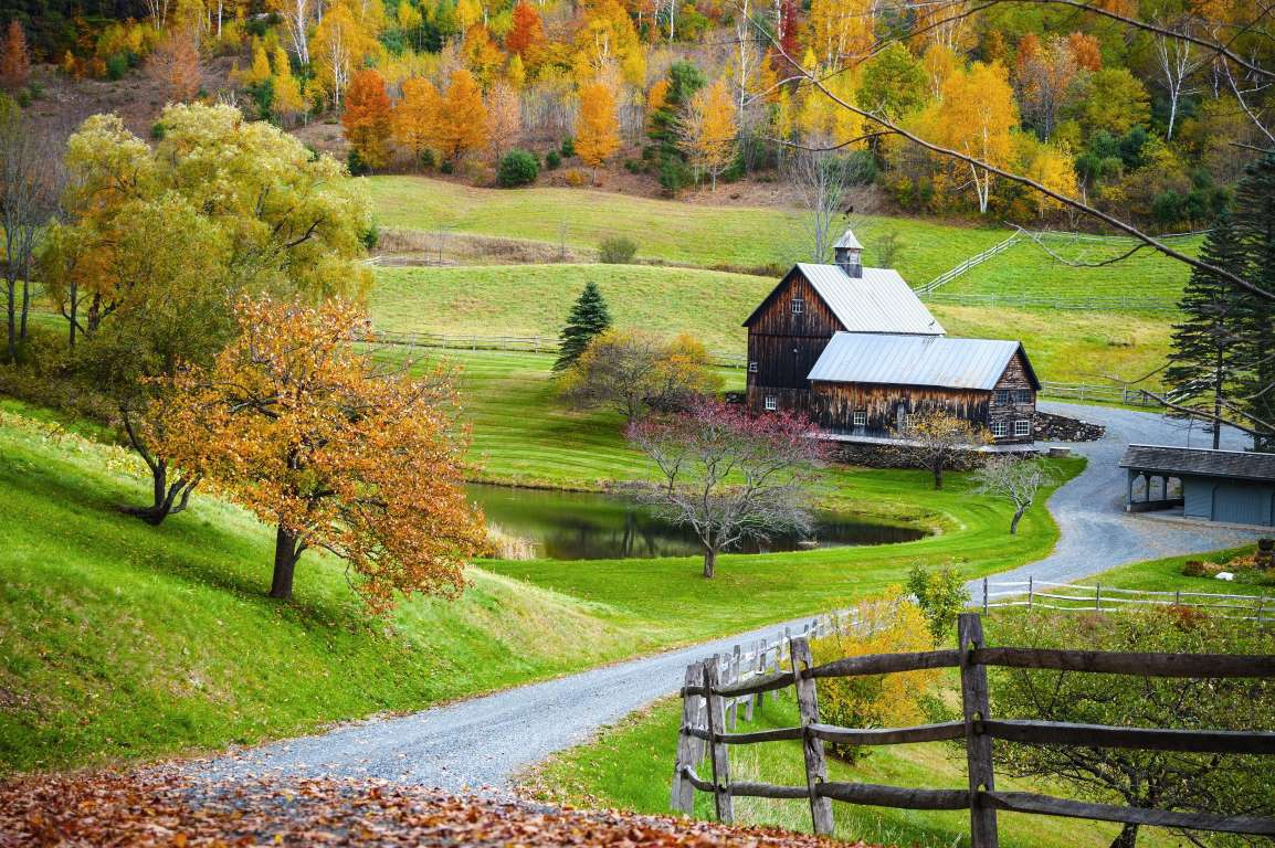 Chùm ảnh: Cảnh sắc mùa thu tuyệt đẹp ở Đông Bắc nước Mỹ