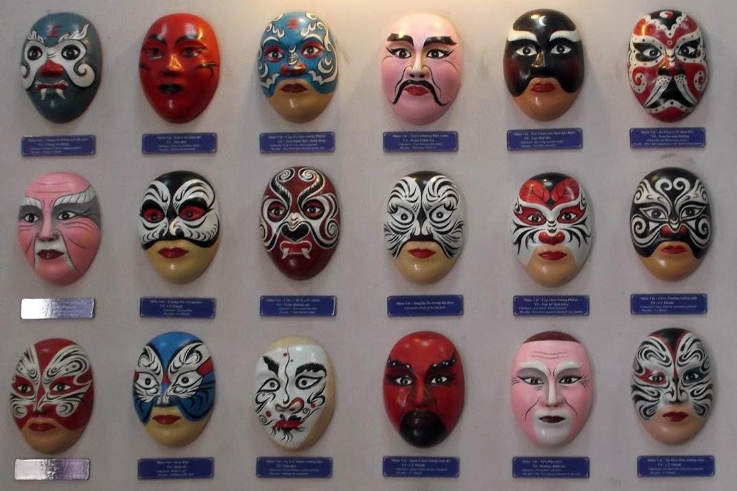 Bàn về màu sắc trong mặt nạ tuồng truyền thống
