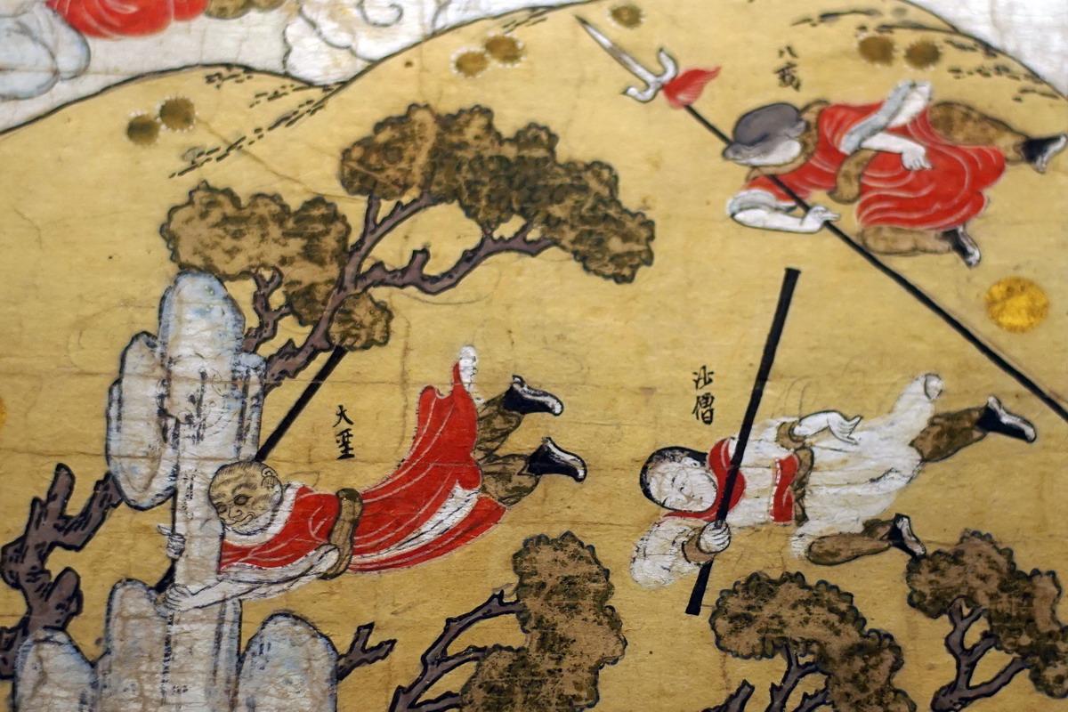Chùm ảnh: 'Tây Du Ký' qua nét vẽ của người Việt vẽ 3 thế kỷ trước