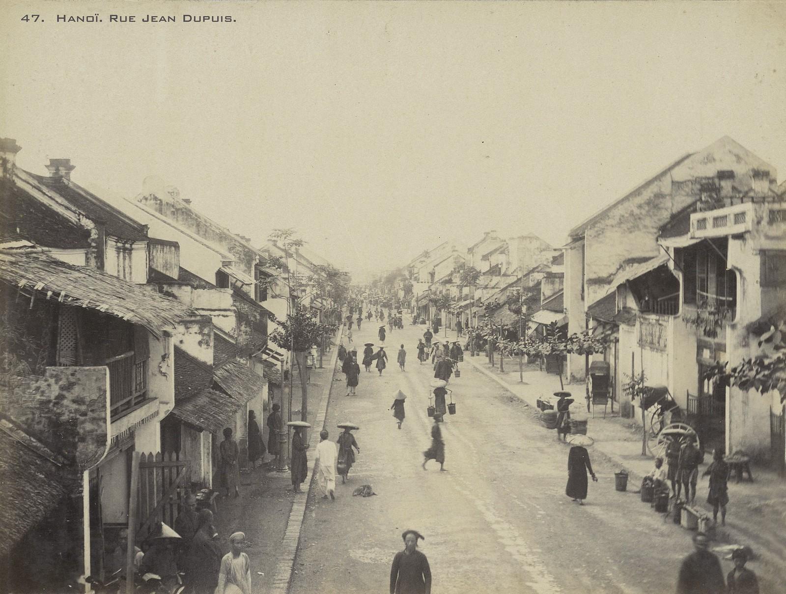 Bộ ảnh 'chất lừ' về 36 phố phường Hà Nội cuối thế kỷ 19