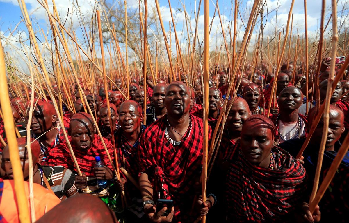 Chùm ảnh: Nghi lễ trưởng thành của các chiến binh tộc người Maasai