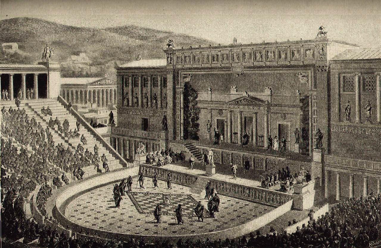 Sân khấu kịch Hy Lạp cổ đại: Ánh hào quang bất tử