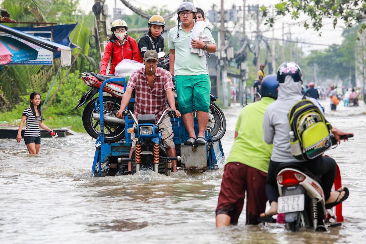 Không gian cho nước: Giảm nhẹ rủi ro lũ lụt ở Nam Á và Đông Nam Á