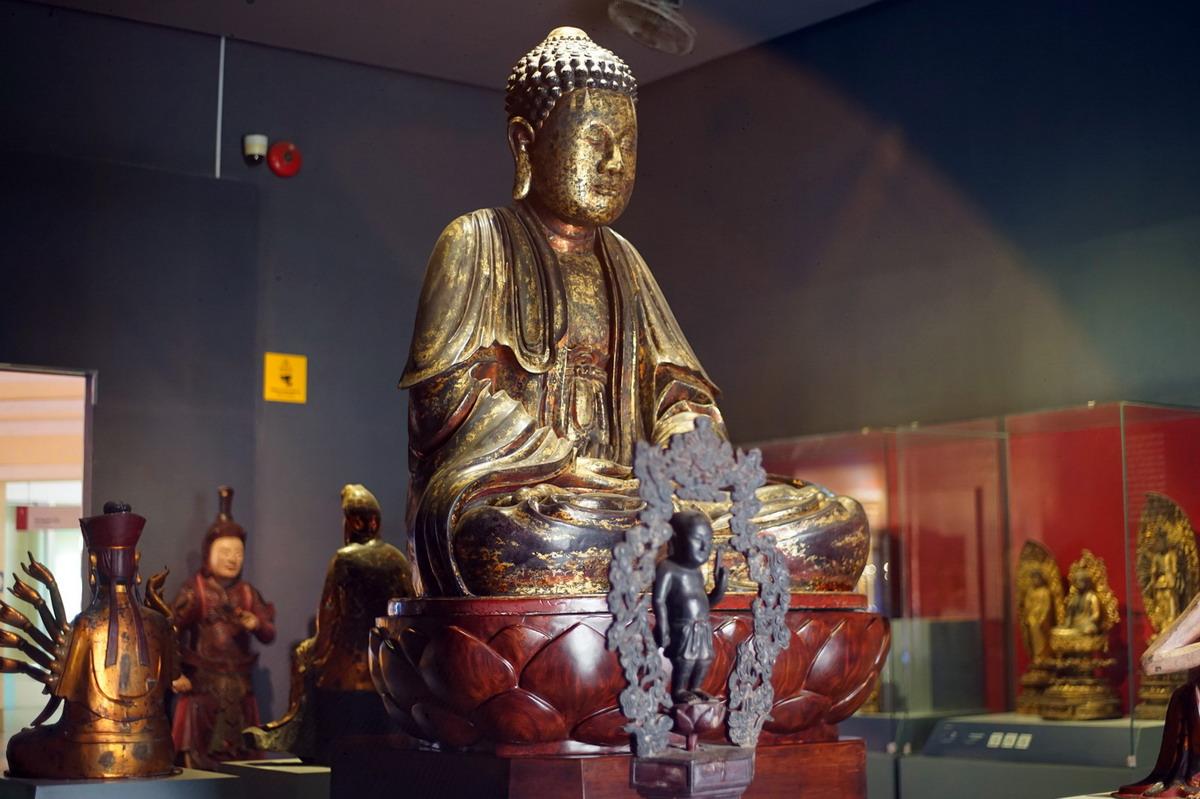 Chùm ảnh: Pho tượng Phật cổ có lịch sử đặc biệt của Sài Gòn