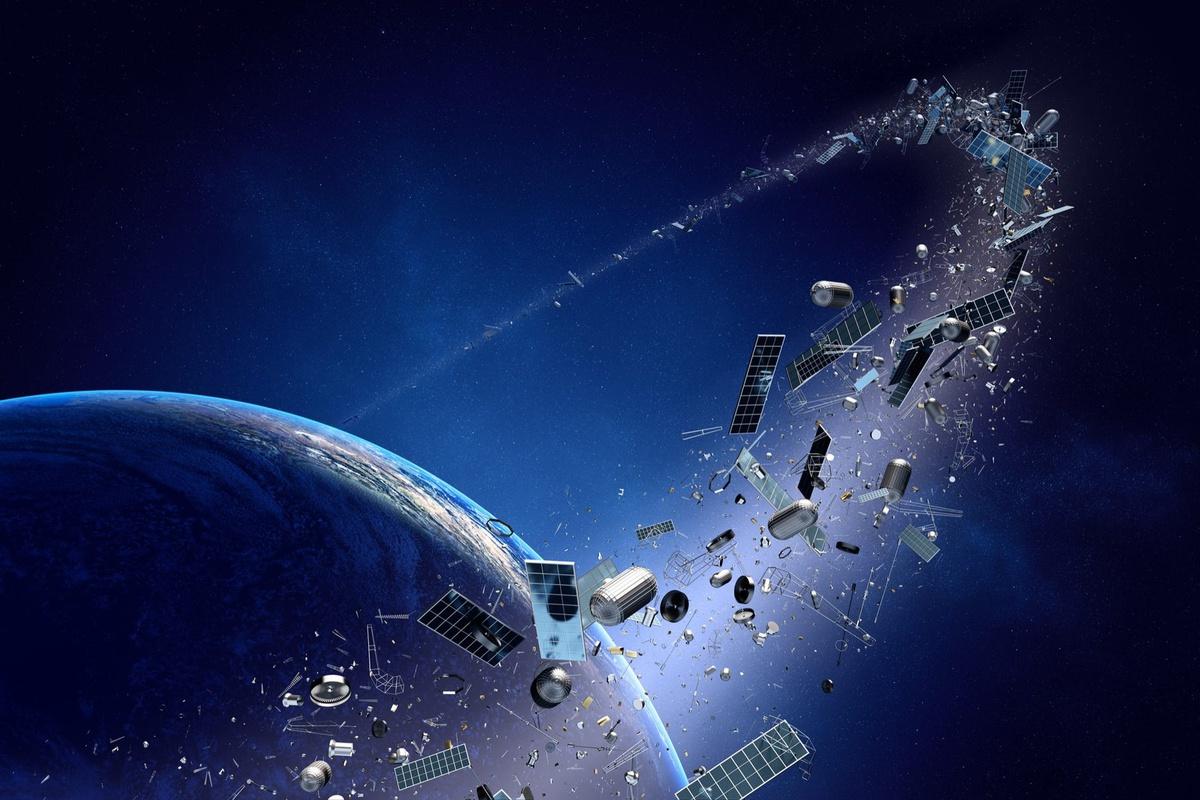 Rác vũ trụ không phải chuyện trên giời mà là một hiểm họa đã cận kề