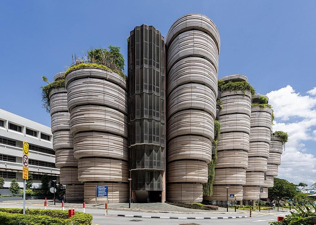 Chùm ảnh: Những tòa nhà độc đáo ở đảo quốc Singapore