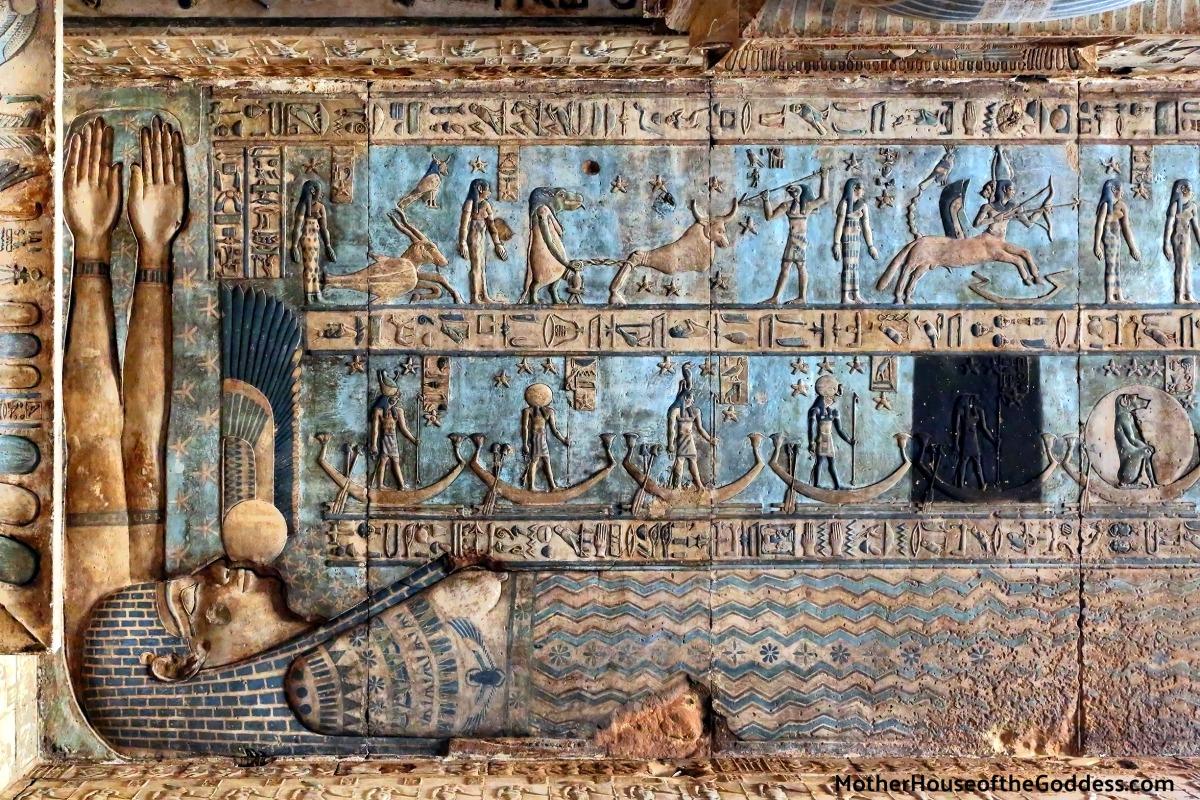 Sự bí ẩn và quyến rũ của mỹ thuật Ai Cập cổ đại