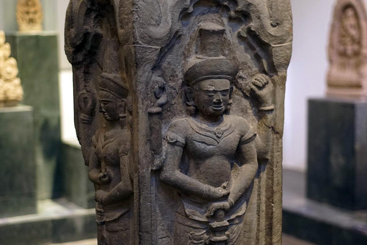 Chùm ảnh: Những kiệt tác điêu khắc đá Angkor ở Sài Gòn