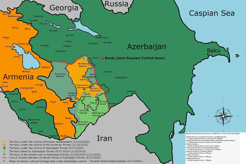 Ván cờ địa chính trị của nước Nga tại Nagorno-Karabakh