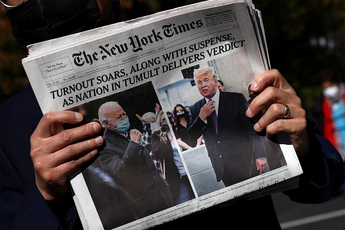 Một góc nhìn về truyền thông Mỹ từ cuộc bầu cử Tổng thống 2020