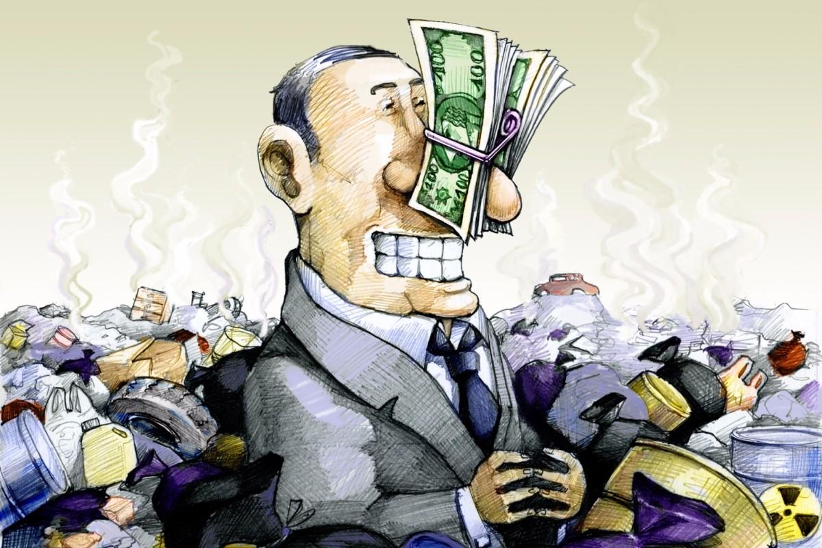 Lý luận về tham nhũng và nhóm lợi ích