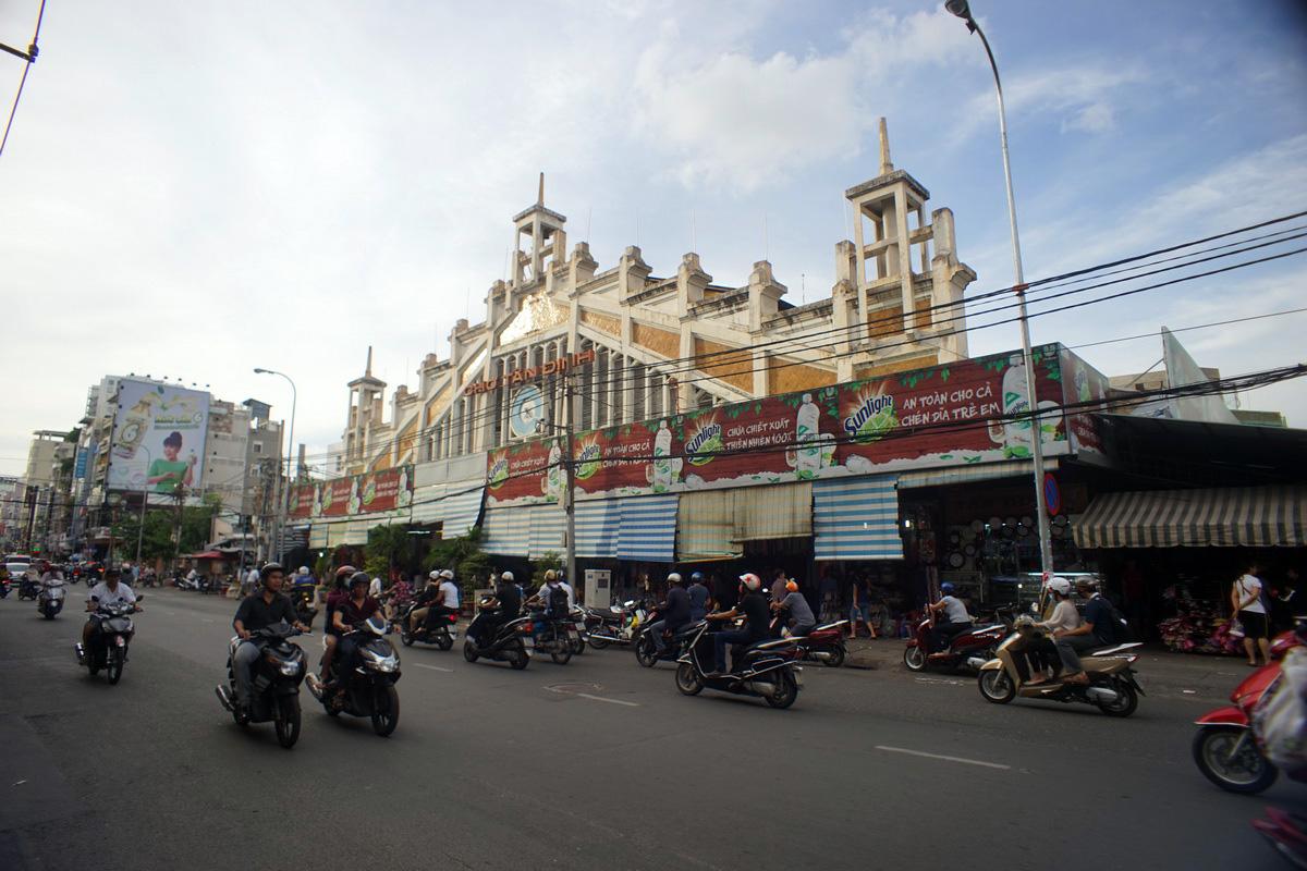 Chùm ảnh: Chợ Tân Định – khu chợ một thế kỷ của Sài Gòn