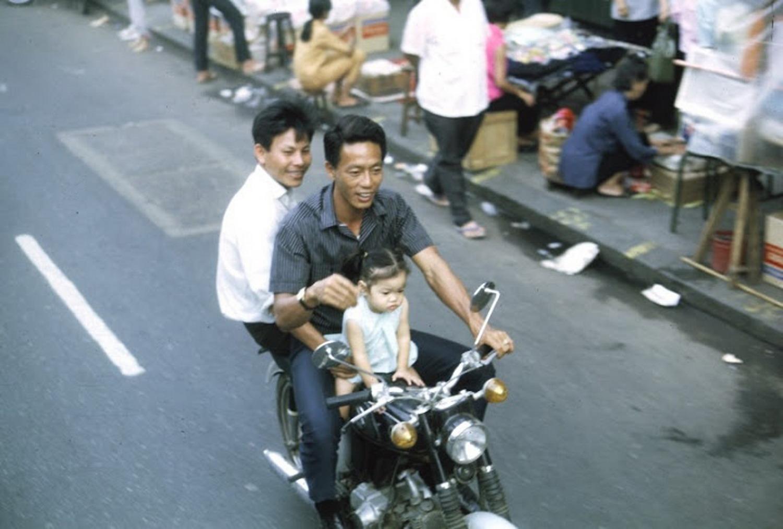 Những hình ảnh thú vị về giao thông ở Sài Gòn năm 1969