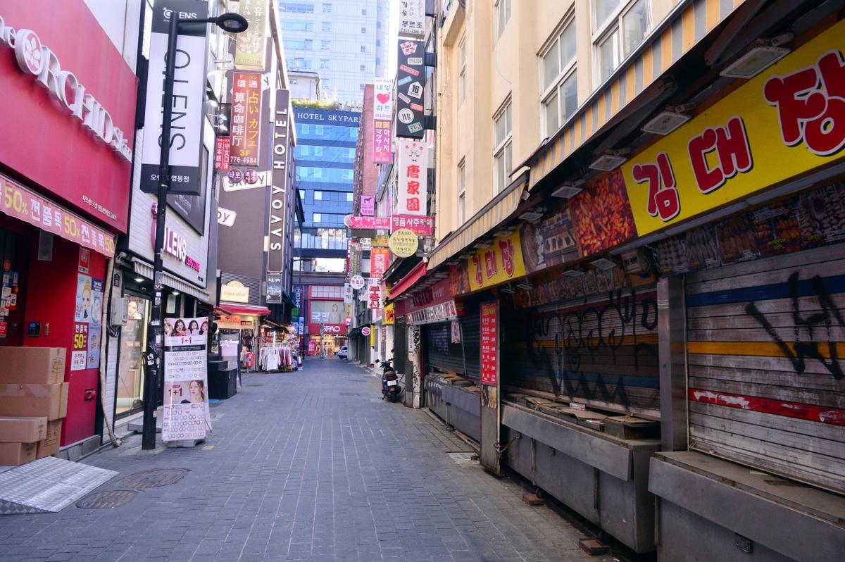 Tác động kinh tế của COVID-19: Cái nhìn từ khu Myeong-dong của Hàn Quốc