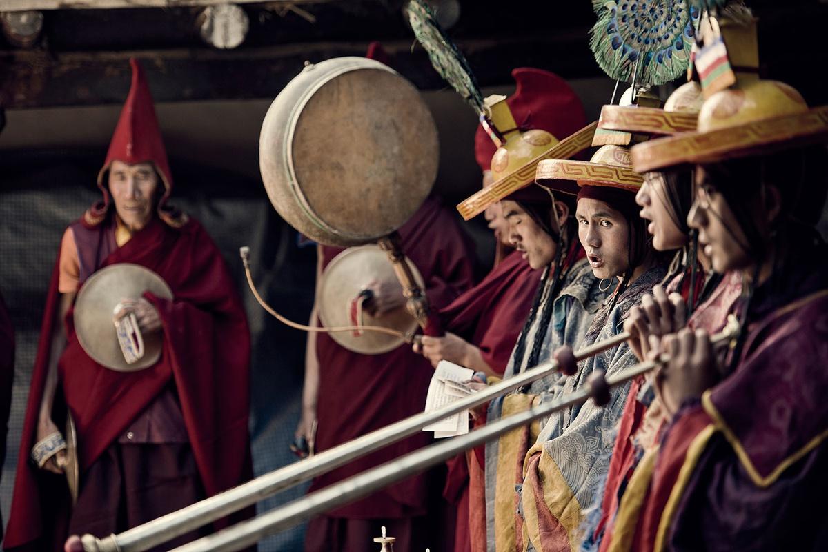 Chùm ảnh: Cuộc sống của tộc người Mustang trên cao nguyên Tây Tạng