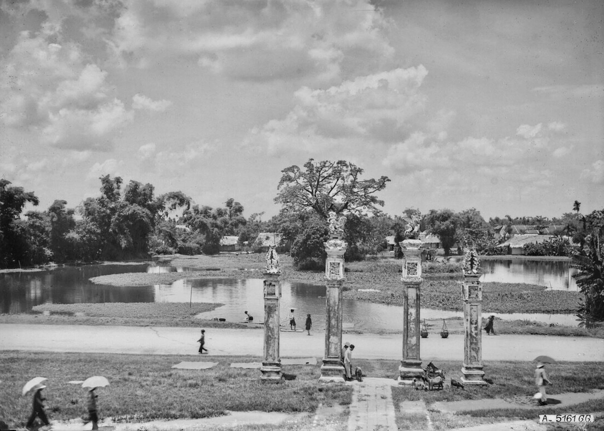 Chùm ảnh: Diện mạo Văn Miếu – Quốc Tử Giám Hà Nội thập niên 1920