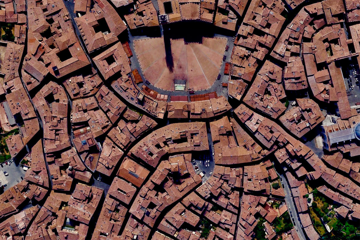 Chùm ảnh: Các đô thị có quy hoạch độc đáo nhìn từ trên cao
