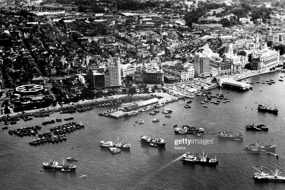 Chùm ảnh: 'Làng chài' Singapore thập niên 1960 qua ống kính quốc tế