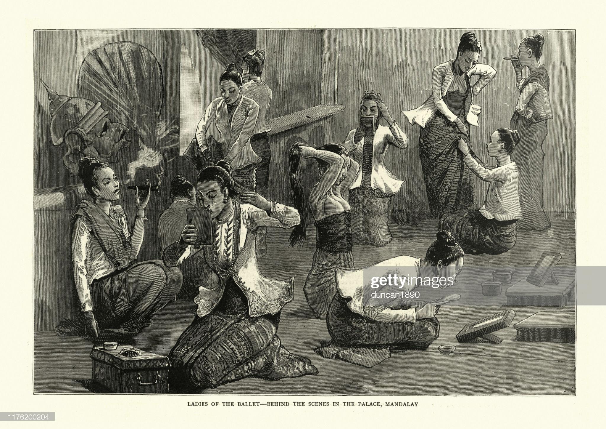 Hình ảnh tư liệu quý giá về đất nước Miến Điện thế kỷ 19