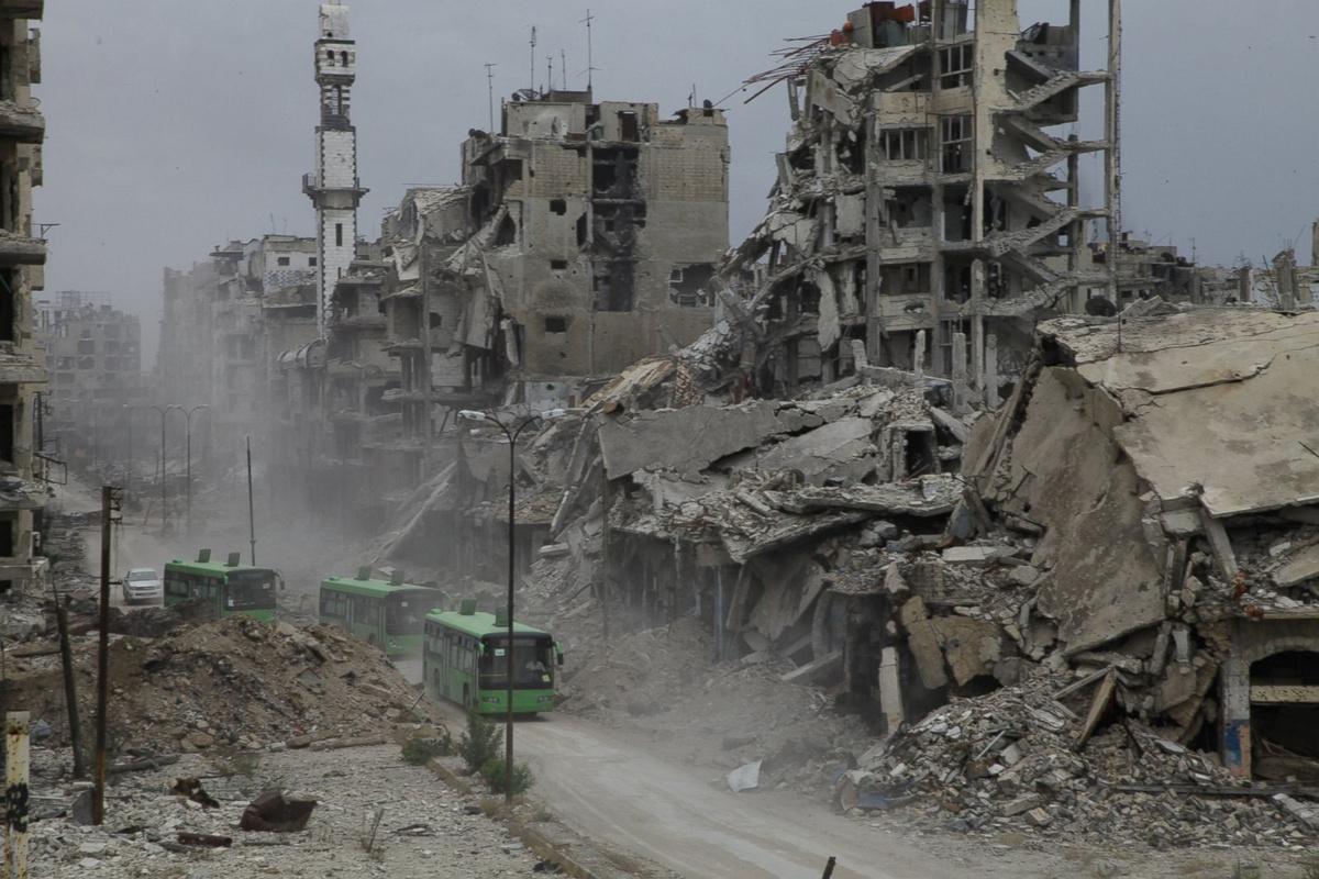 Chùm ảnh: Nhìn lại 10 năm cuộc nội chiến tàn khốc ở Syria