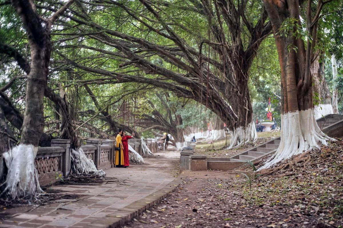 Chùm ảnh: Vẻ đẹp của ngôi đền trấn Tây kinh thành Thăng Long