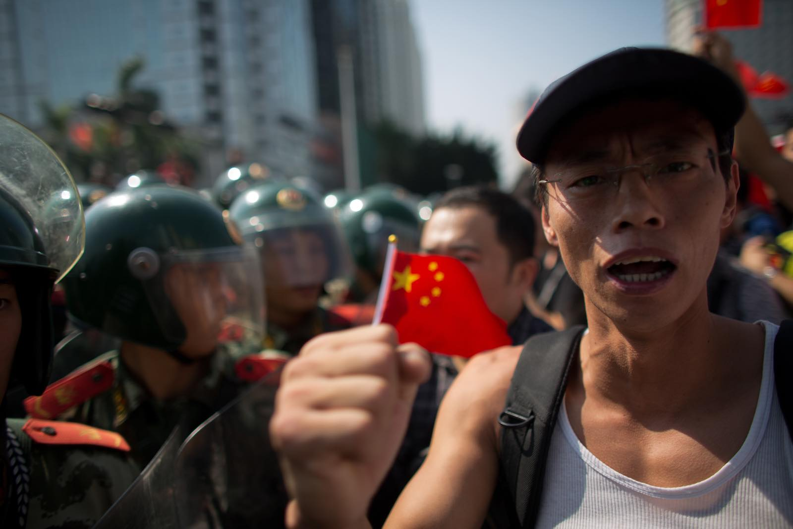 Lời lẽ hung hăng của một kẻ theo chủ nghĩa dân tộc ở Trung Quốc