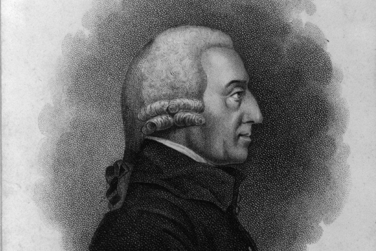 Đôi nét về Adam Smith – cha đẻ của lý luận kinh tế thị trường