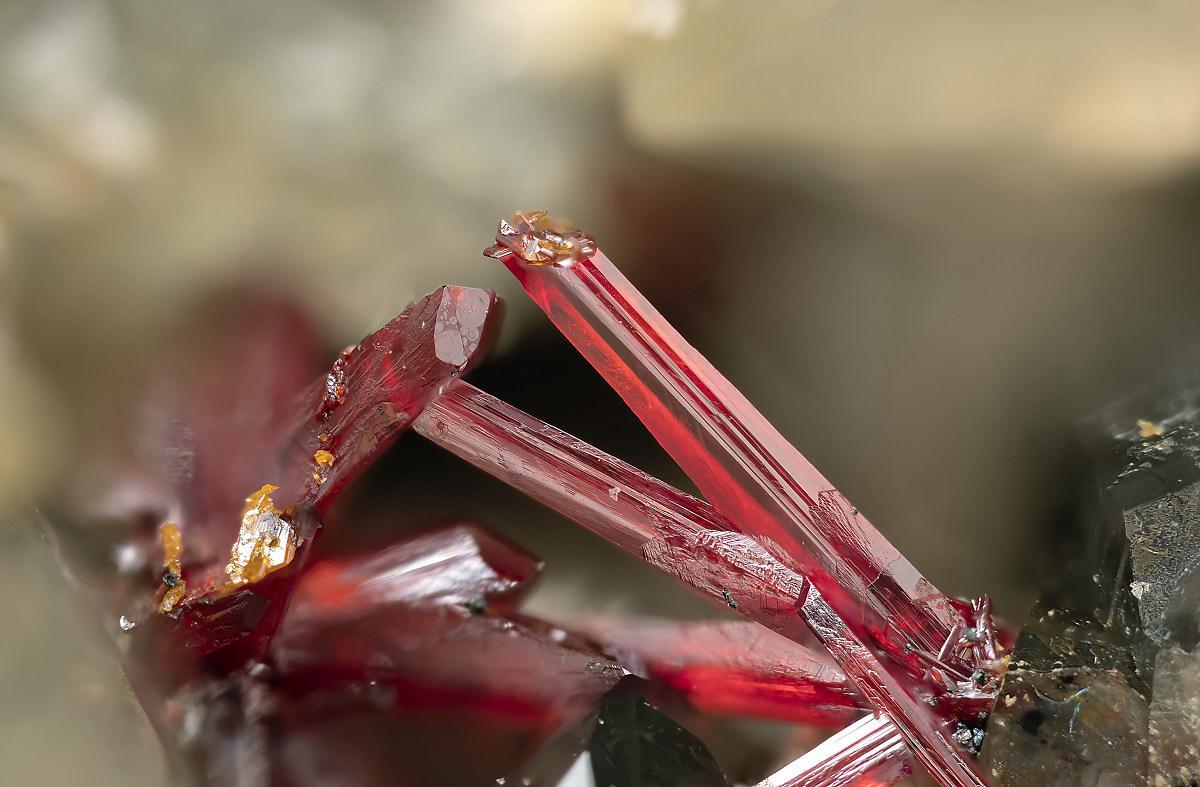 Chùm ảnh: Những mẫu khoáng vật màu đỏ rực tuyệt đẹp