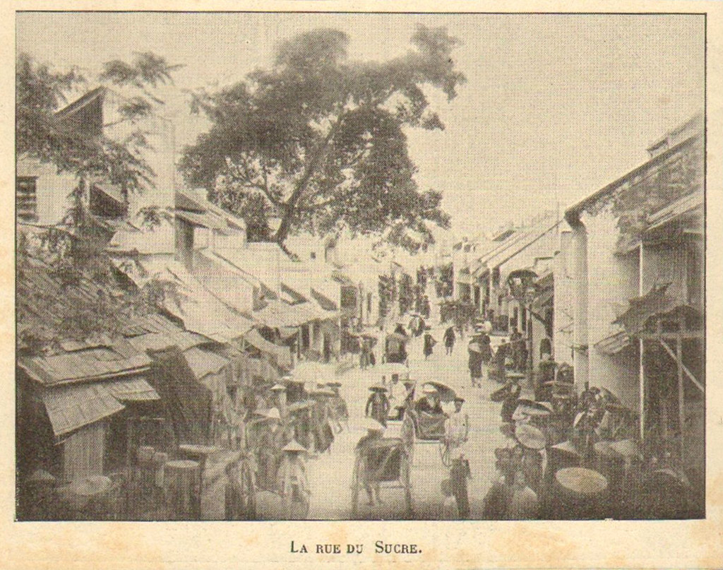 Cửa hàng bán bánh kẹo ở Hà Nội thế kỷ 19 qua lời kể của người Pháp