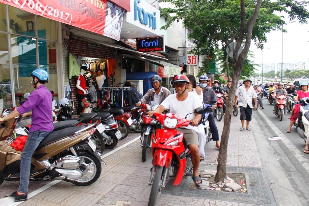 Cái chết của vỉa hè – góc nhìn từ một người nước ngoài ở Việt Nam