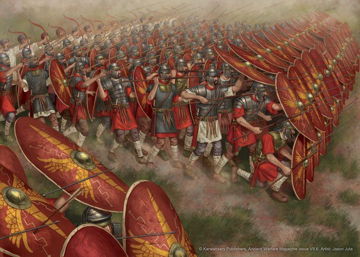 Vì sao Legion vượt Phalanx trở thành đội hình mạnh nhất thời cổ đại?