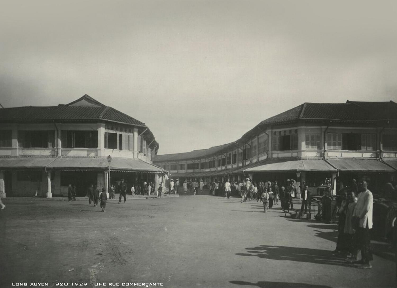 Những hình ảnh hiếm có về Long Xuyên thập niên 1920