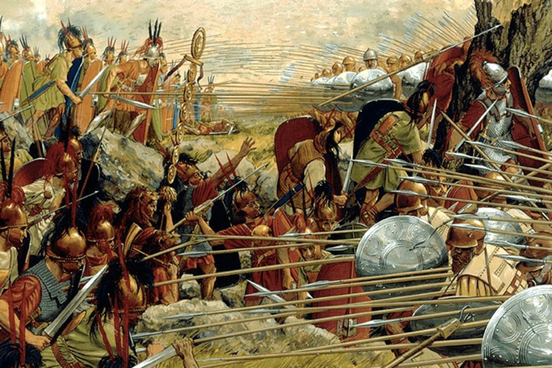 Trận Pydna 168 TCN: Khi Legion La Mã đấu với Phalanx Macedonia