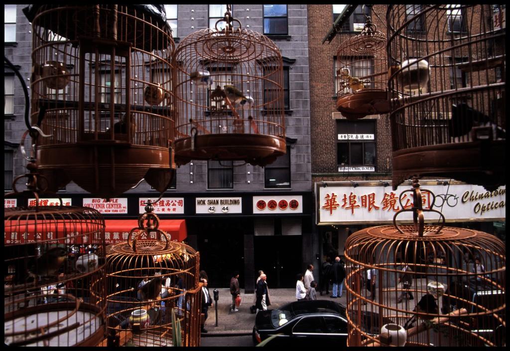 Chùm ảnh: Cuộc sống trong khu Phố Tàu ở New York năm 1996