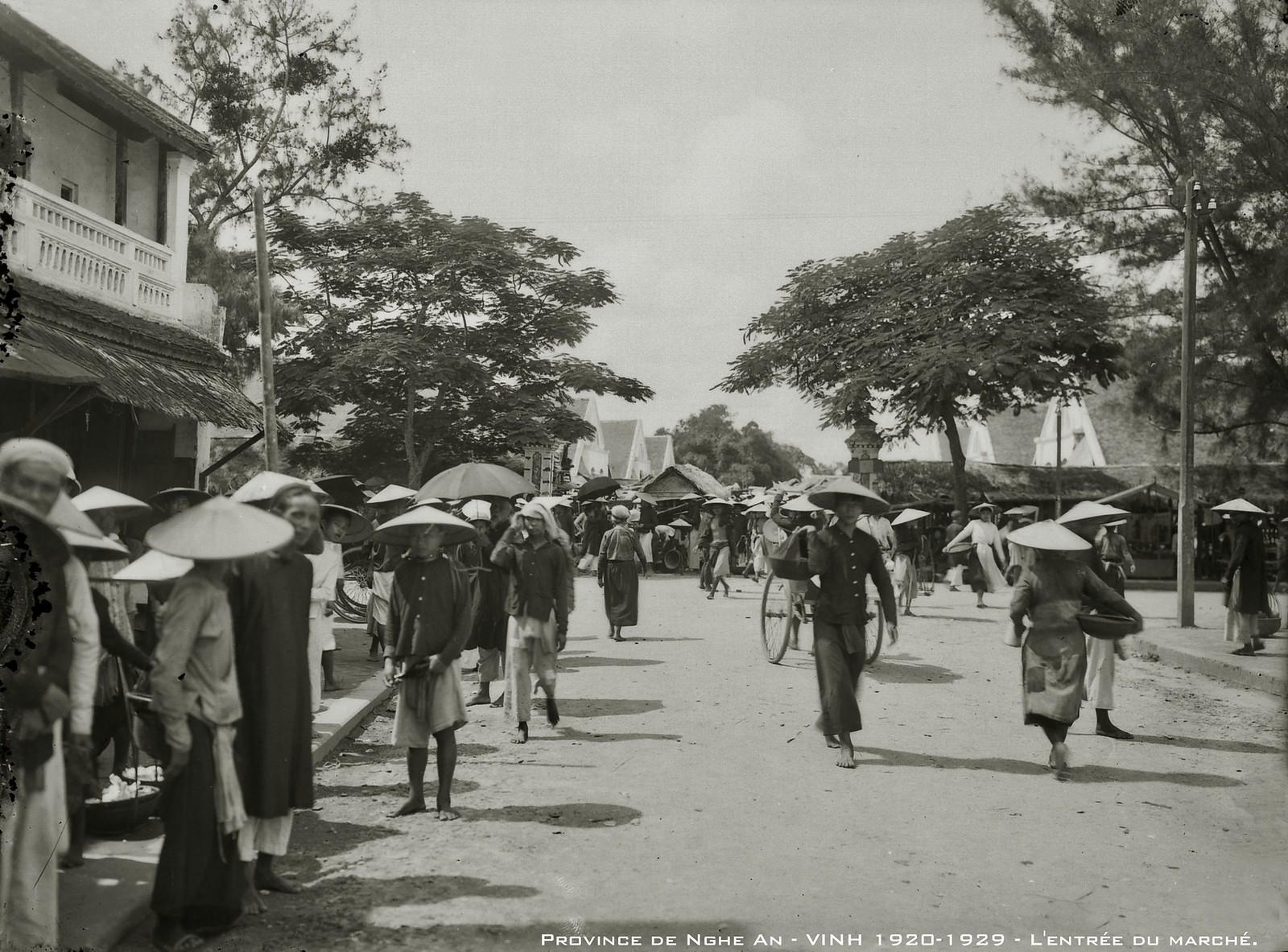 Chùm ảnh: Khám phá cuộc sống ở thành Vinh thập niên 1920