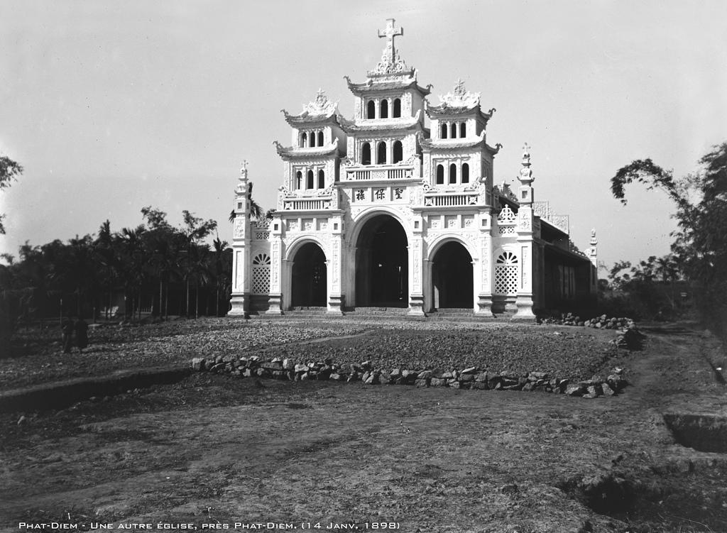 Một số hình ảnh lịch sử về xứ Công giáo Phát Diệm năm 1898